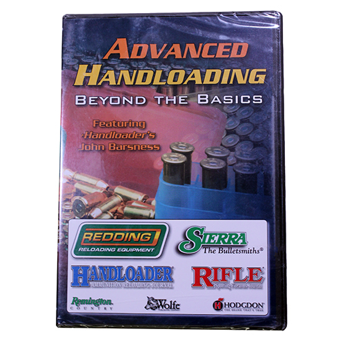 Sierra Bullets Advanced Handloading DVD 0096DVD
