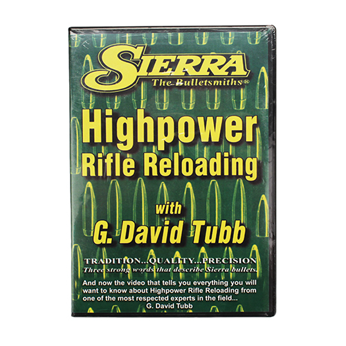 Sierra Bullets Advanced Rifle Reloading DVD 0099DVD