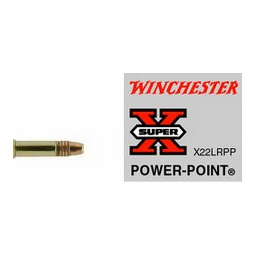 Winchester Ammo SupX 22LR Lead HP Hi-Vel 40gr /50 X22LRPP