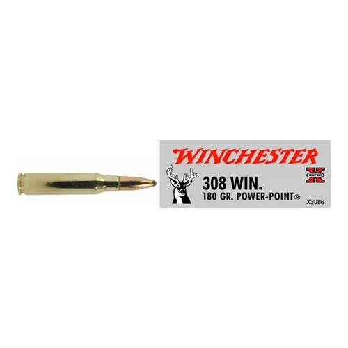 Winchester Ammo SupX 308 Win 180gr Power Point/20 X3086