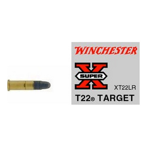 Winchester Ammo SupX 22LR Target Lead RN/50 XT22LR