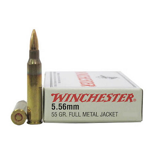 Winchester Ammo USA 5.56MM (223) 55Gr. FMJ/20 Q3131