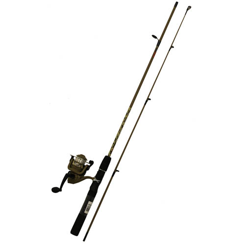 "Zebco / Quantum DUCK DYNASTY 56"" 2PC ML SPINNING COMBO DDSP562ML,08,FB6"