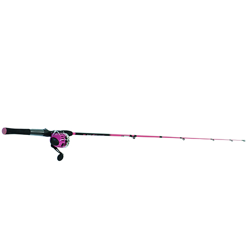 Zebco / Quantum SPLASH 6' 2PC MED SPINCAST COMBO SPLSC602M,10,NS4