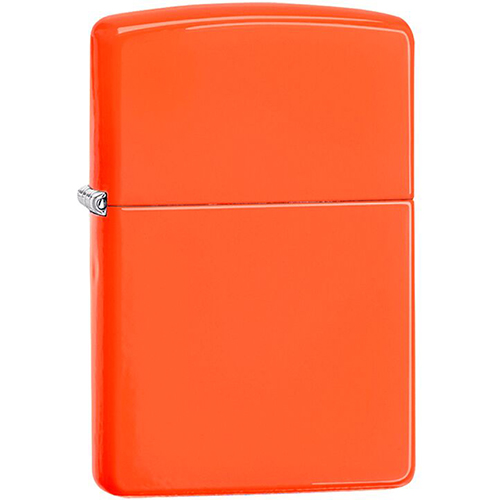 Zippo Outdoors Windproof Lighter - Neon Orange 28888