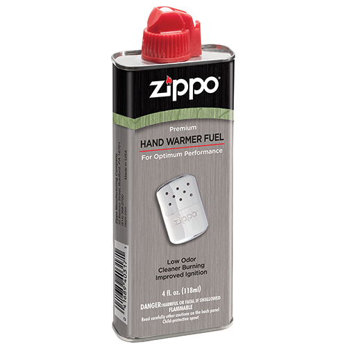 Zippo Outdoors Hand Warmer Fuel - 4 oz. - 12 cans 33410D