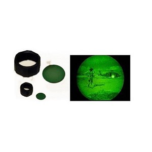 Maglite NVG Lens AA with Holder Green 108-000-614