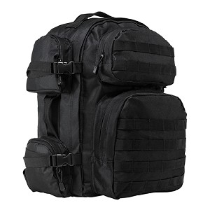 NcStar Tactical Backpack, Black CBB2911