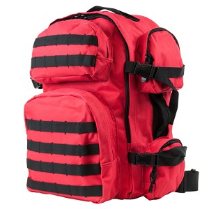 NcStar Vism Tactical Backpack/Red W/Black Trim CBR2911