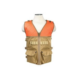 NcStar Hunting Vest/Blaze Orange And Tan CHV2942TO