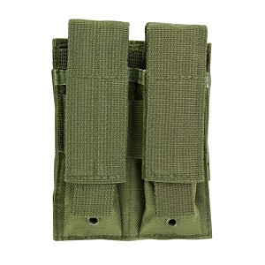 NcStar Double Pistol Mag Pouch/Green  CVP2P2931G