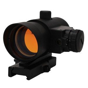 NcStar 1X40 Red Dot Sight W/ Built In Red Laser DLB140R