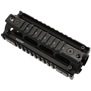 NcStar AR15 Carbine Length QuadRail HG MAR4S