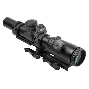 NcStar Evolution Series 1.1-4X24 Scope/Mil-Dot VEVOFM11424GSPR