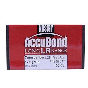 Nosler ABLR 7mm - 175gr. SP (100 ct) 58517