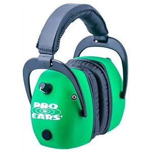 Pro Ears Pro Mag Gold Neon Green GSDPMNG