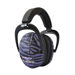 Pro Ears Pro Ears Ultra Sleek Purple Zebra PEUSPUZ