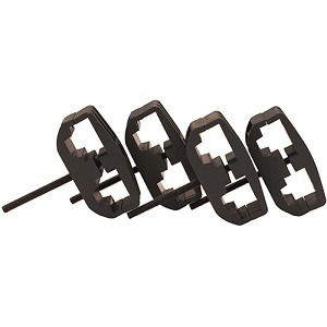 ProMag AR-15 Mag Clamp 4-Pack PM016B