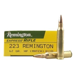 Remington Express Rifle 223 62Gr HP Mtch/20 R223R6