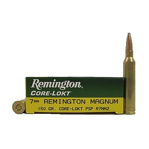 Remington 7mmMag 150gr Cor-Lokt /20 R7MM2