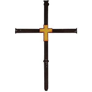 "Rivers Edge Products 13"" Welded Nails Cross 1040B"