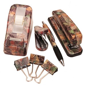 Rivers Edge Products 7 Pc Camo Office Desk Set 1750
