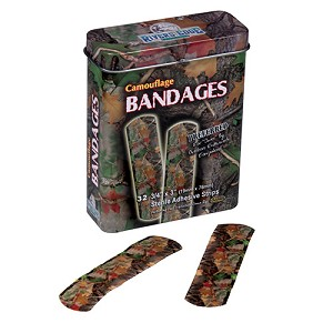 Rivers Edge Products 32 Pc Cb Camo Bandages Green 321