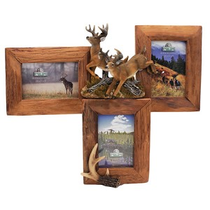 Rivers Edge Products 3 Picture Deer Firwood Frame 500