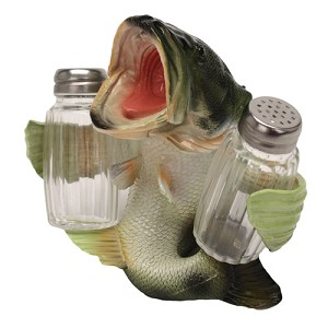 Rivers Edge Products Bass Salt And Pepper Shaker 583