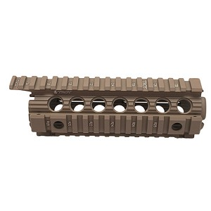 "Troy Industries Carbine/M4 Enhanced DI BattleRail 7"" FDE SRAI-DID-D7FT-00"