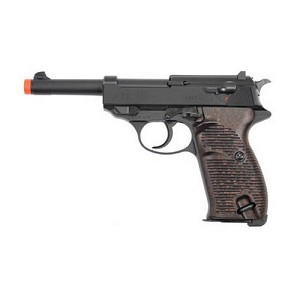 Umarex USA Walther P38 Blowback Gas 12rd Blk 2265001