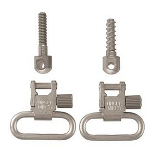 "Uncle Mikes Swivels QD 115 Nickel 1"", Clam  MO10022"