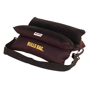 "Bulls Bag/Uncle Buds Bench Black Poly/Suede w/Carry Strap 15"" 1705"
