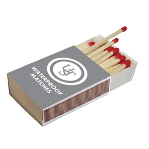 Ultimate Survival Technologies Waterproof Matches 4-Pack 20-02118-02