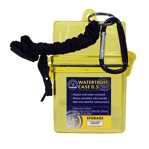 Ultimate Survival Technologies Watertight Case Marine 0.5, Yellow 20-285489-06-M