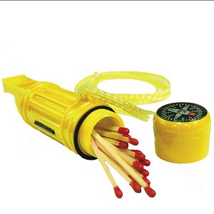 Ultimate Survival Technologies 5-in-1 Survival Tool Marine, Yellow 20-310-5-1-M