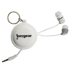 Ultimate Survival Technologies Ear Buds With Case, White 50-KEY0021-10