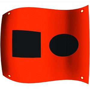 Ultimate Survival Technologies Distress Signal Flag 50-51040-1CRD