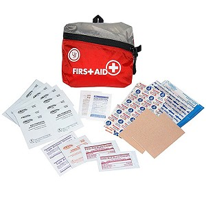 Ultimate Survival Technologies FeatherLite First Aid Kit 1.0, Red 80-30-1450