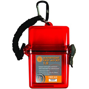 Ultimate Survival Technologies Watertight First Aid Kit 1.0, Red 80-30-1465