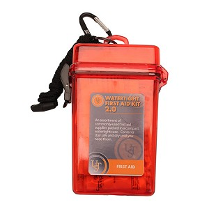 Ultimate Survival Technologies Watertight First Aid Kit 2.0, Red 80-30-1470