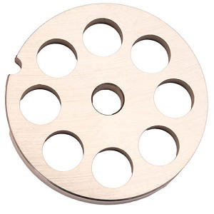 Weston Brands #10/12 Grinder SS Plate 14mm 29-1214