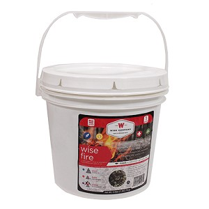 Wise Foods 1 Gallon Bucket - Wise Fire 01-620ISF