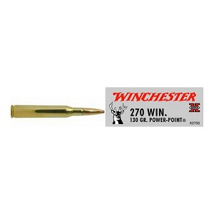 Winchester Ammo SupX 270 Win 130gr Power Point/20 X2705