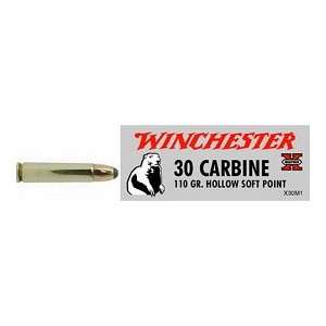 Winchester Ammo SupX 30 Carb 110gr Hollow SP/50 X30M1