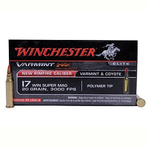 Winchester Ammo Varmint HV 17WSM Vmax 20gr /50 S17W20