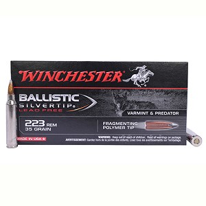 Winchester Ammo 223 Rem 35gr BSTP Sprm LF /20 S223RLF