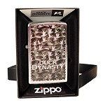 Zippo Outdoors Windproof Lighter-Duck Dynasty-Strt Chrm 28880