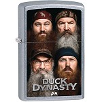 Zippo Outdoors Windproof Lighter-Duck Dynasty-Strt Chrme 28881