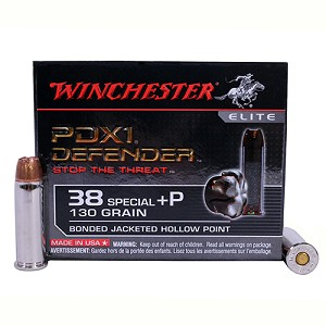 Winchester Ammo SupremElt 38SPC +P 130gr PDX1 /20 S38PDB